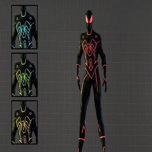 & Steam Workshop :: Spider-Man PlayerModel (Tron)