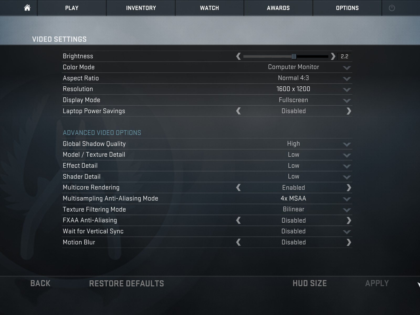 Cs go matchmaking server config