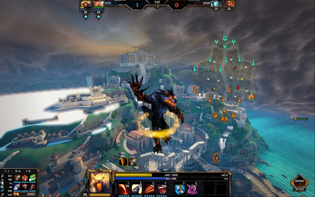 Steam Community :: Screenshot :: Smite conquest map from above. on smite siege map, new smite assault map, muslim conquest map, alexander the great conquest map, minecrfat conquest map, spanish conquest map, star trek conquest map, battlefield 3 conquest map,