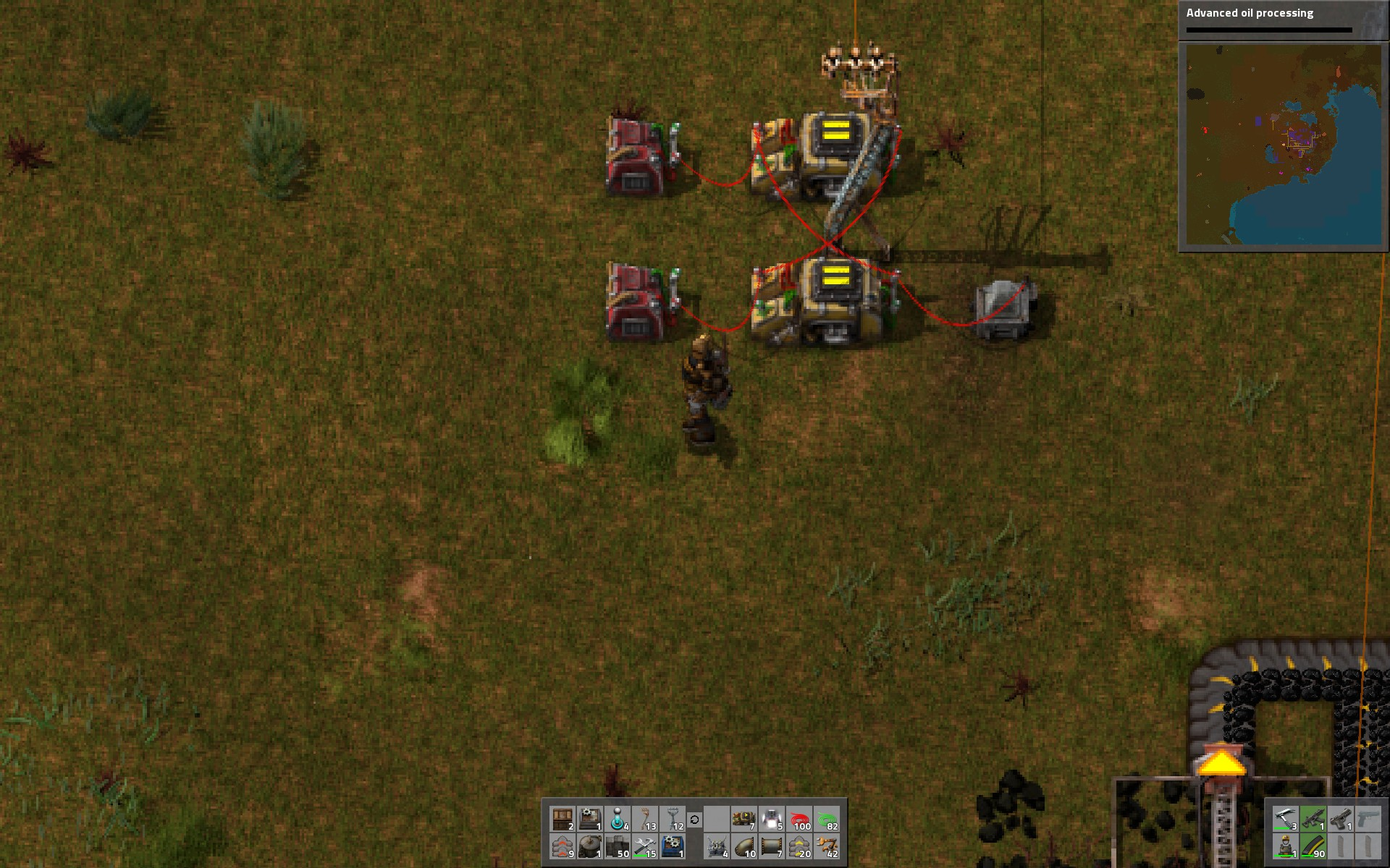 Steam Community Guide Combinators Circuit Logic 102 Sr Latches How To Build Set Reset Flip Flop This Is The Same Latch Setup But Using All Red Wire