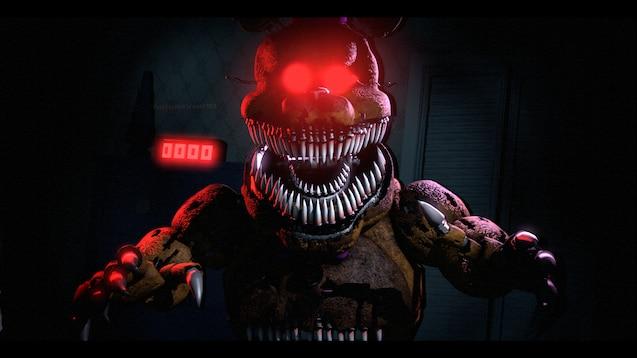fnaf nightmare fredbear