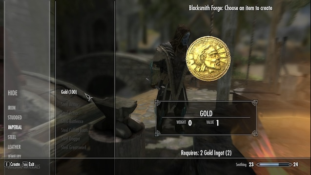 Steam Workshop Smelt Gold Ingots To Gold Septims Enriched gold ingot is an item added by the calculator mod. steam community