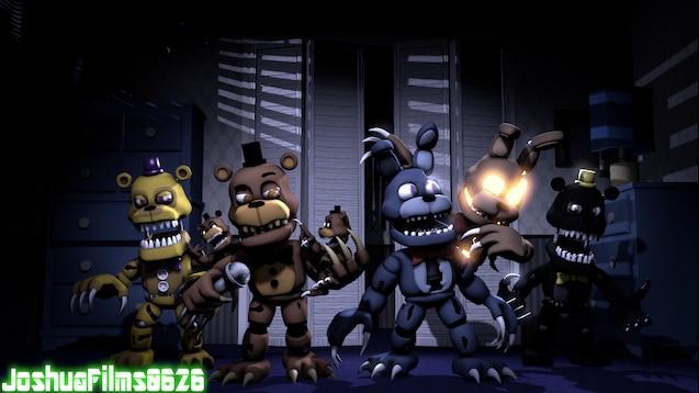 Steam Workshop :: Fnaf World Adventure Nightmares
