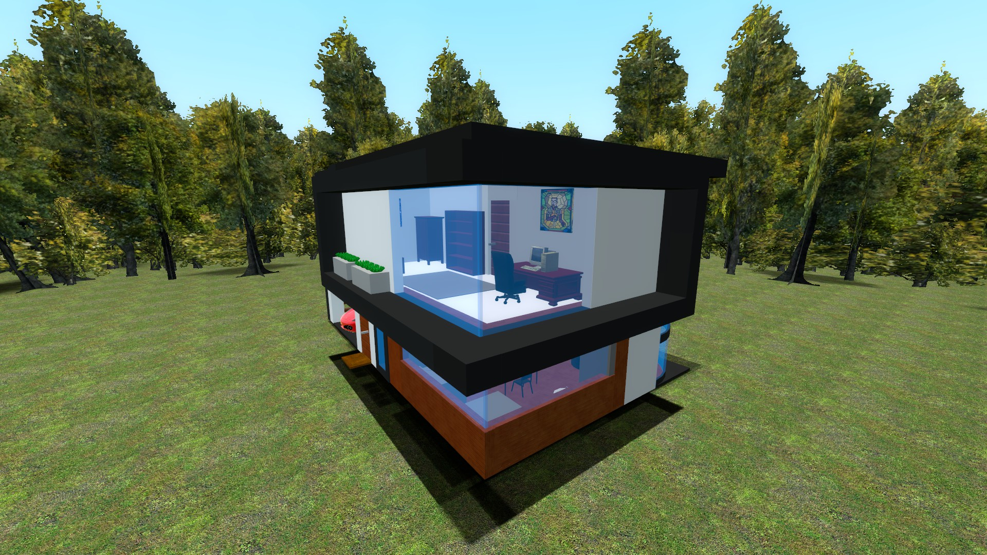 Steam Workshop Genowhirl70s Modern house dupe