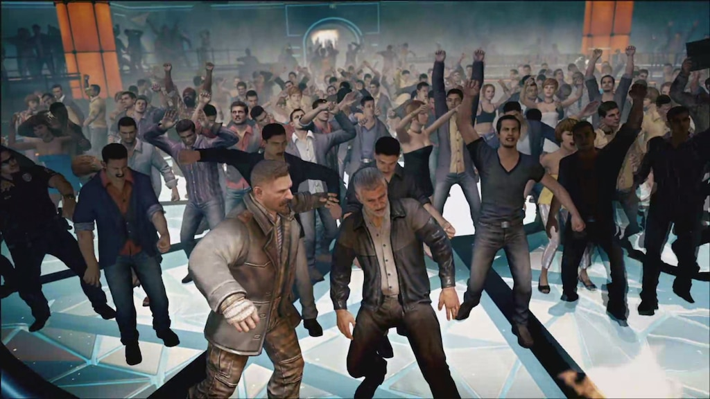 Steam Community :: Screenshot :: Few things are more beautiful than 90 year  old Alex Mason and 110 year old Viktor Reznov rocking out to Avenged  Sevenfold.