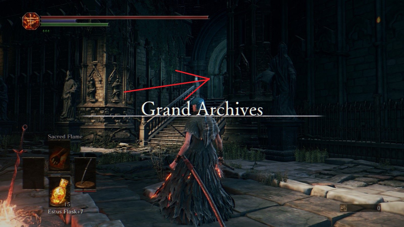 Steam community guide late game ultimate souls farming 92664 turn right and left to roof of grand archives biocorpaavc Gallery