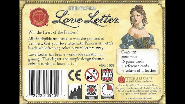 Steam Workshop Love Letter Court The Royal Princess Of Tempest