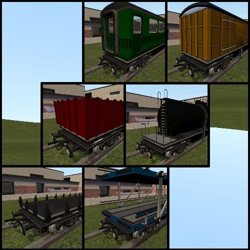 SligWolf's Train Cars