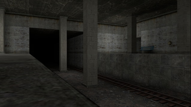 Sfm Subway Map.Steam Workshop Simple Train Subway Station