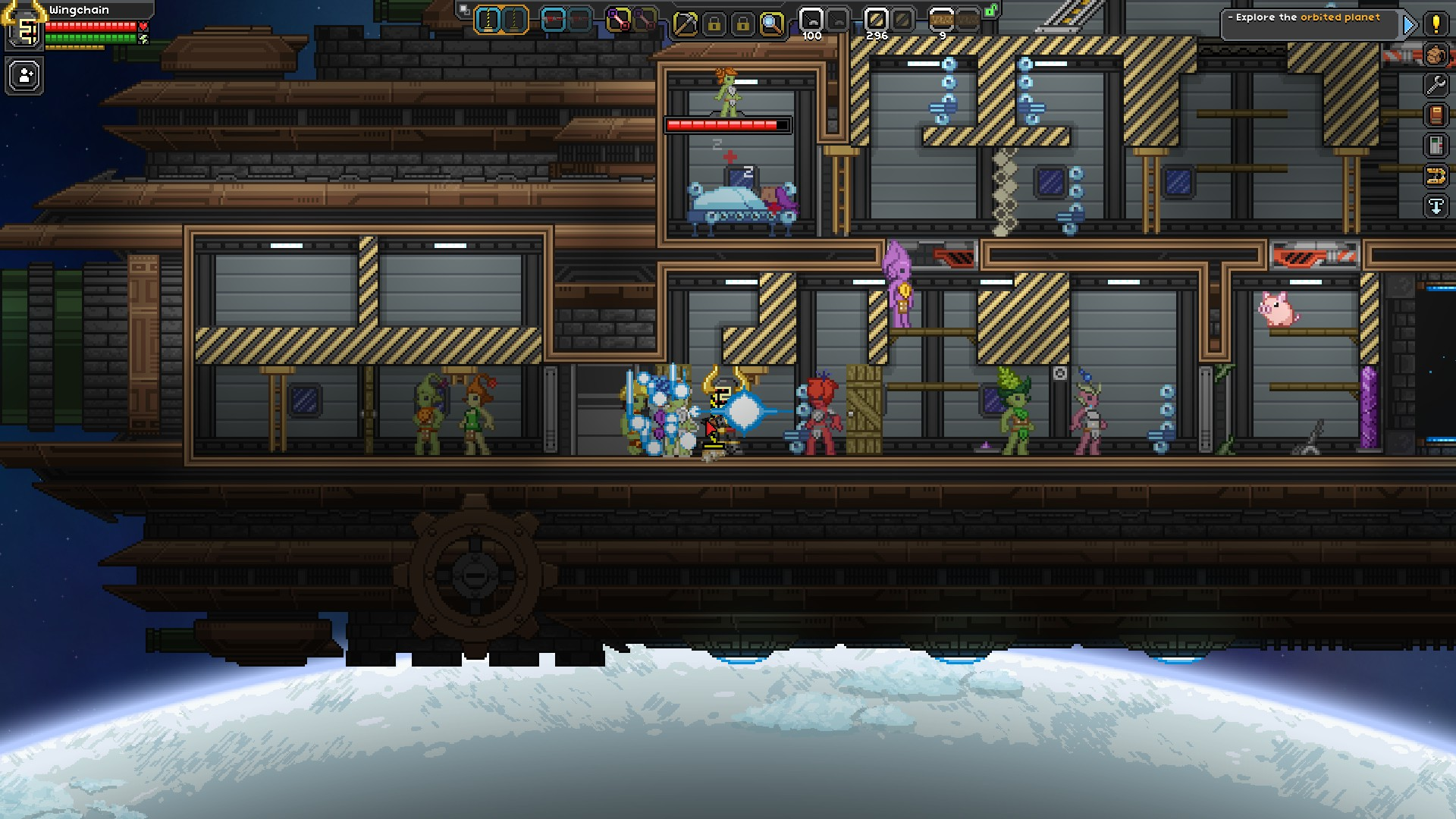 Starbound how to kill npcs