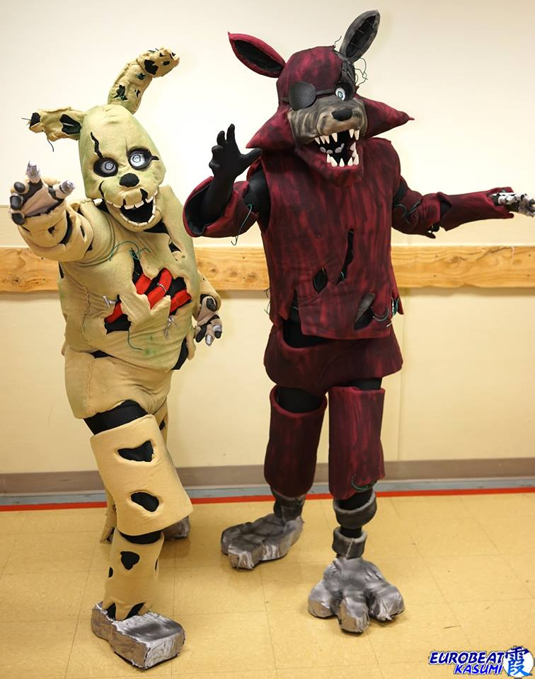 Steam Community Springtrap And Foxy Costumes