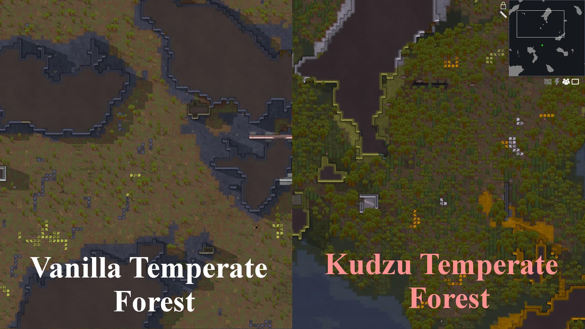 Steam Workshop :: Increased Forest Density - Hostile Version