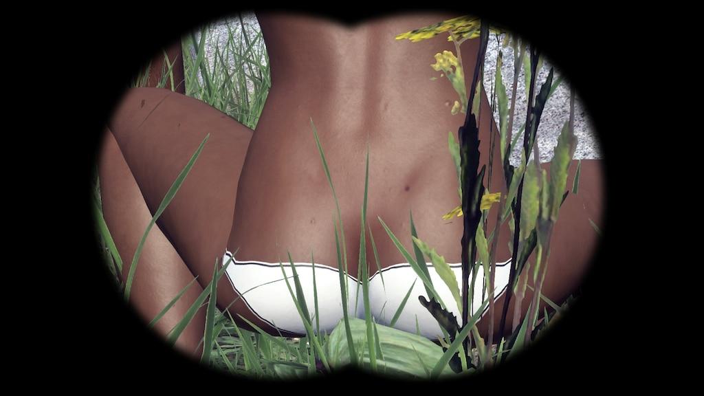 Ass pics black BEACH ASSets: