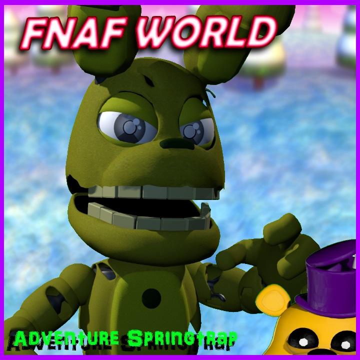 steam workshop fnaf world adventure springtrap