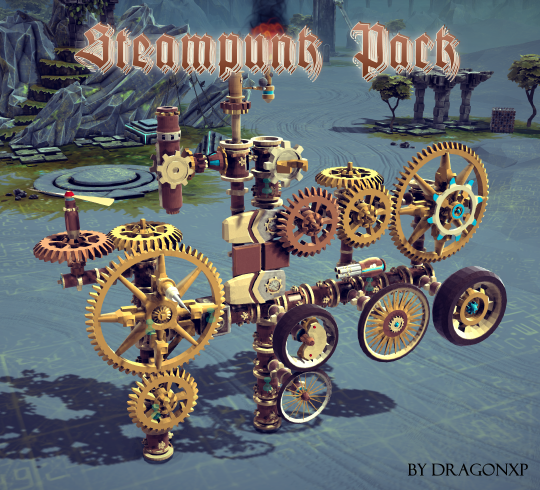 Steam Punk Skin Pack