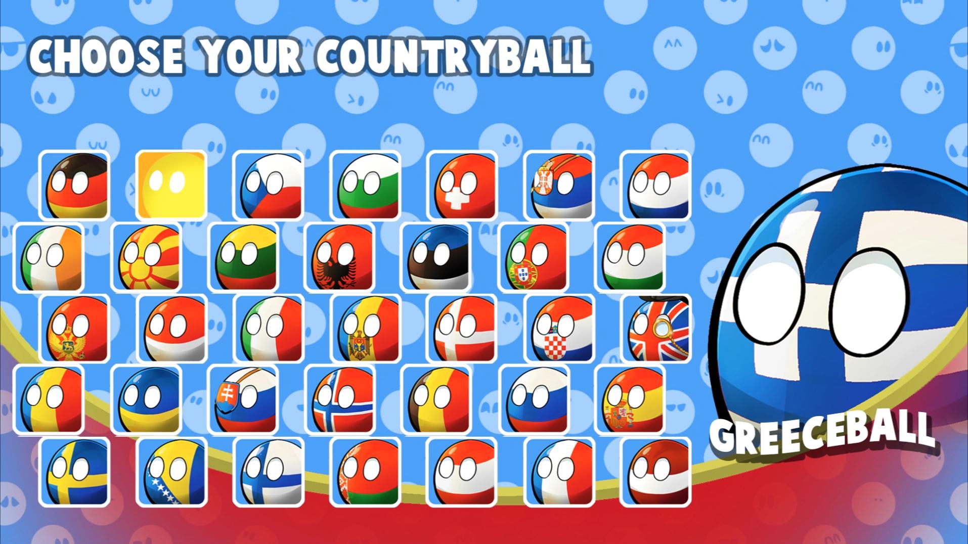 Polandball Map Of The World 2017.Steam Greenlight Polandball World