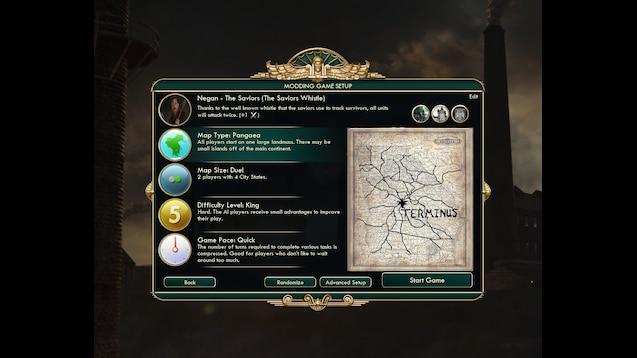 Steam Workshop :: [CIV] Negan of The Saviors - The Walking Dead