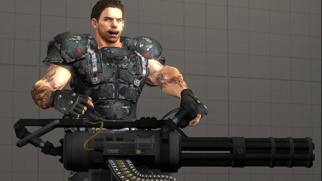 Steam Workshop Heavy Metal Chris Redfield Resident Evil 5