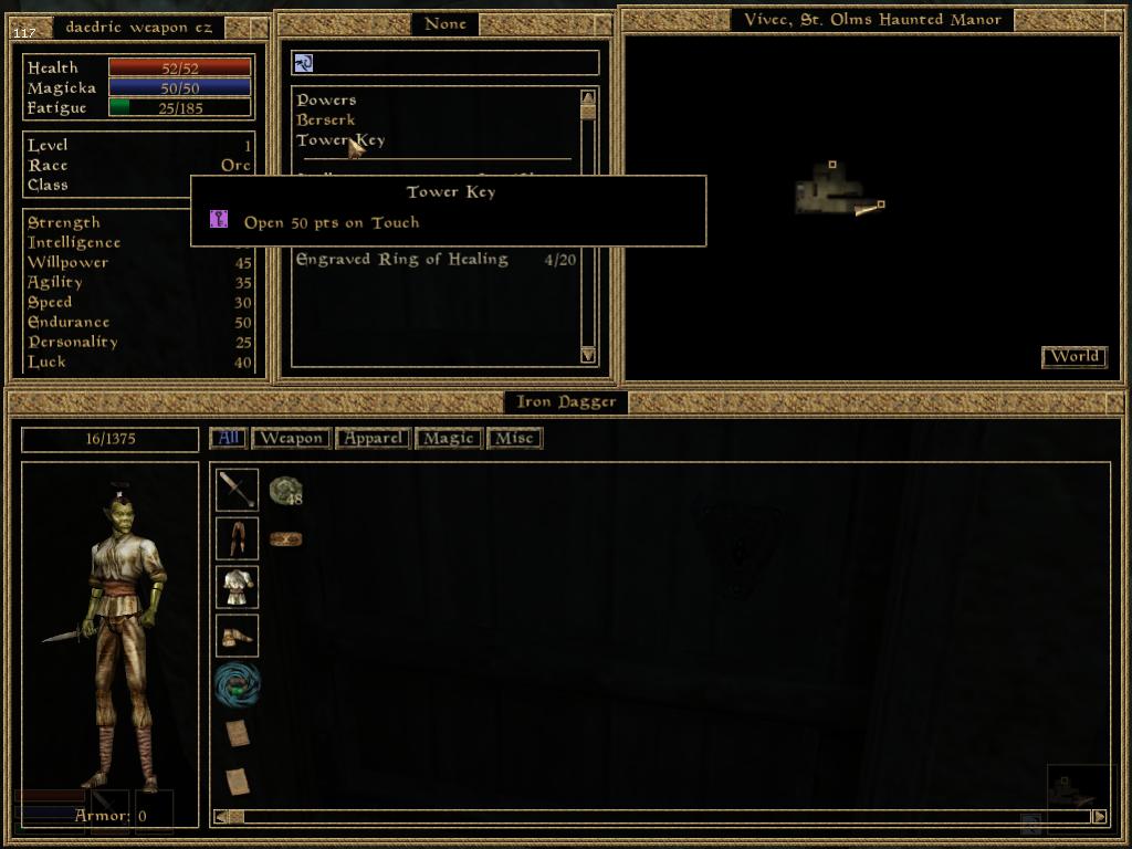 Steam Community :: Guide :: Morrowind - Daedric weapon