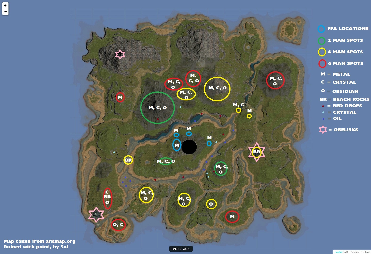 Best Base Locations Ark The Island