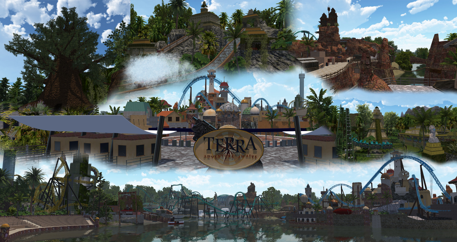 NoLimits 2 Project Showcase - Terra
