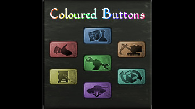 Coloured Buttons - Skymods
