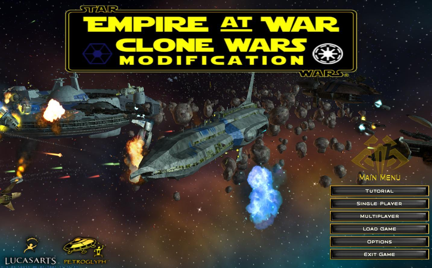 Game mods: star wars: empire at war forces of corruption.