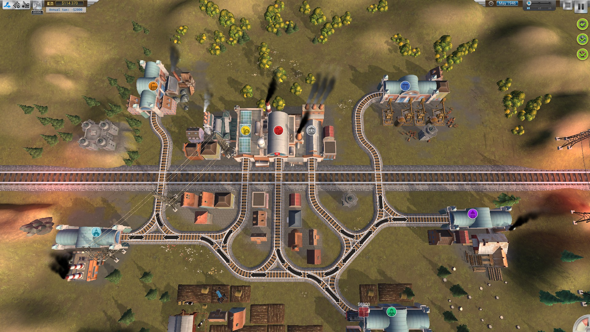 Steam Community Guide Train Valley Walkthrough - Us supertrain map