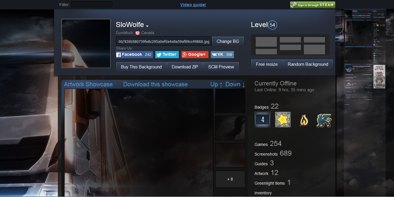 Steam Community Guide How To Get A Full Background Cover See