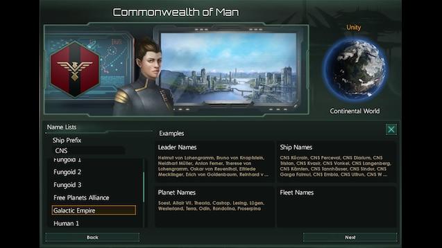 Steam Workshop :: Legend of the Galactic Heroes - Name List
