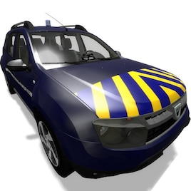 steam workshop photon dacia duster gendarmerie. Black Bedroom Furniture Sets. Home Design Ideas