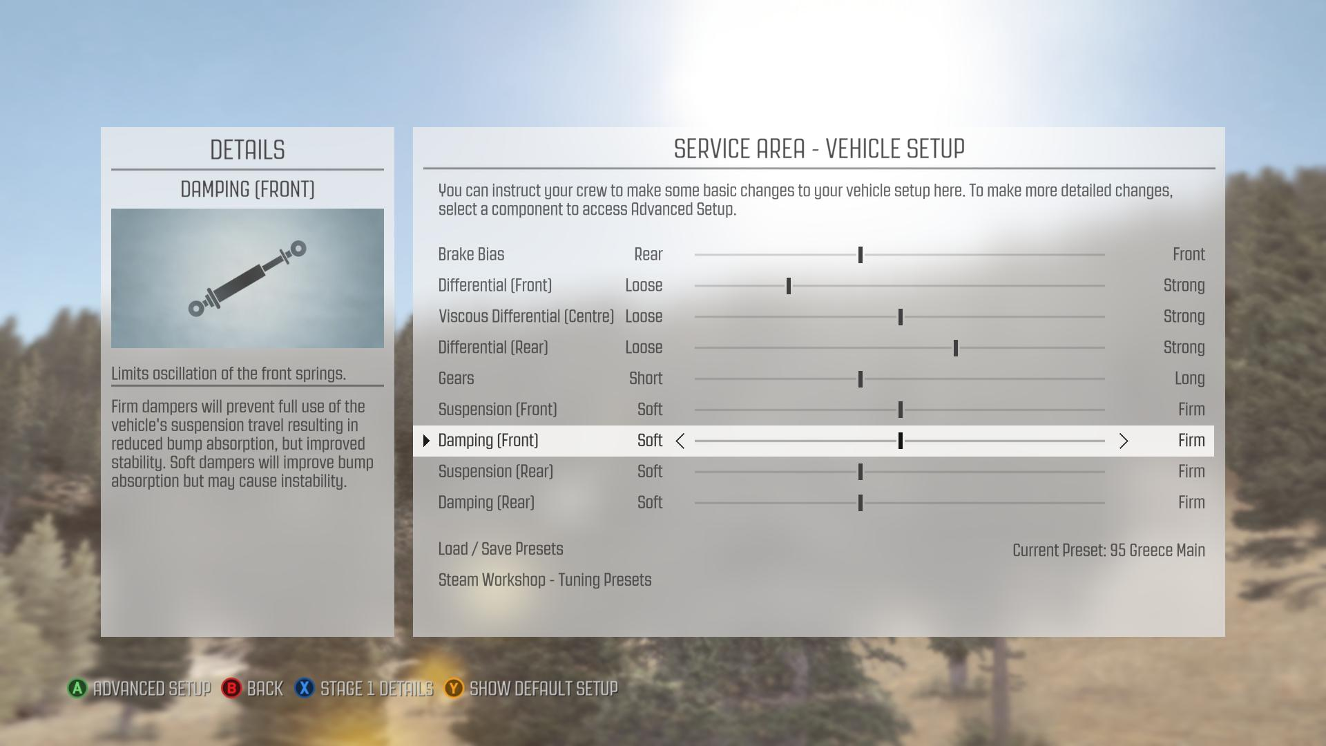 Steam Community :: Guide :: Dirt Rally Vehicle Tuning - Basic and