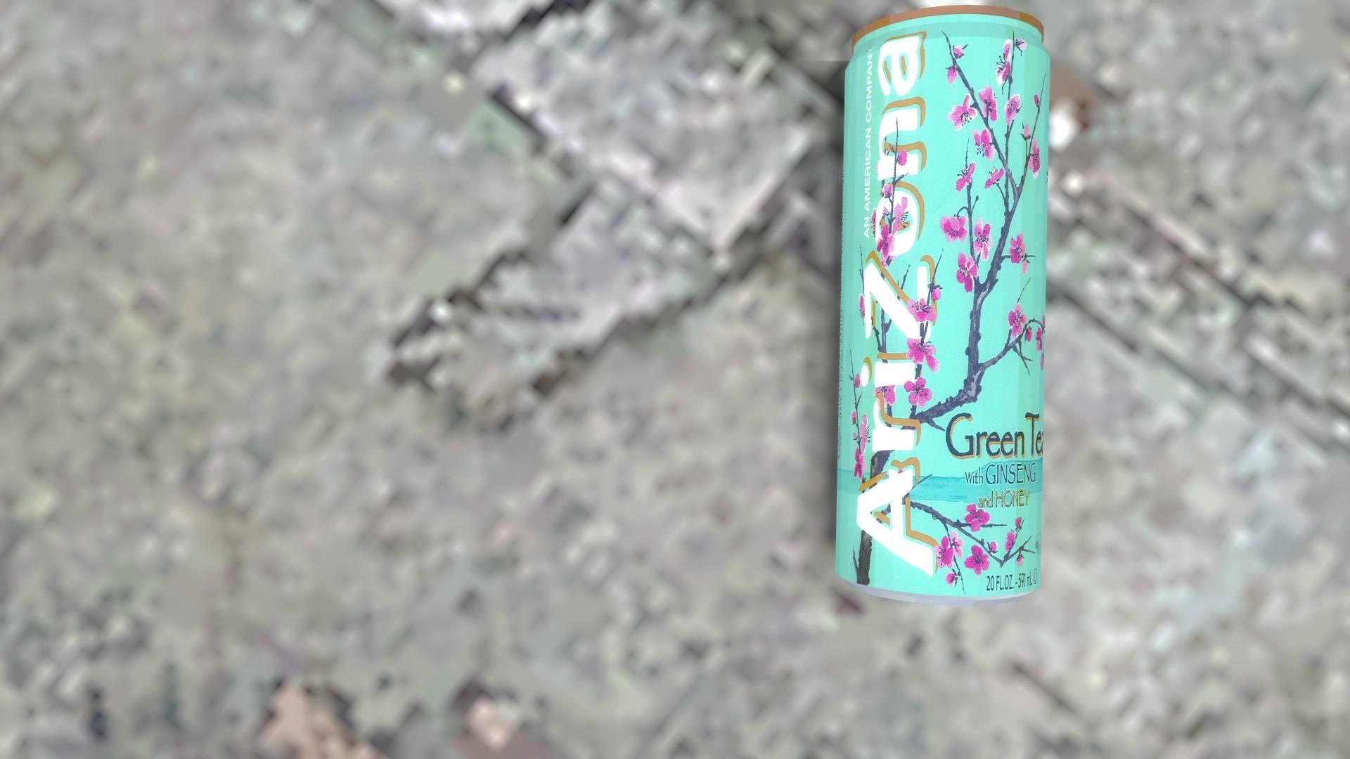 arizona green tea background