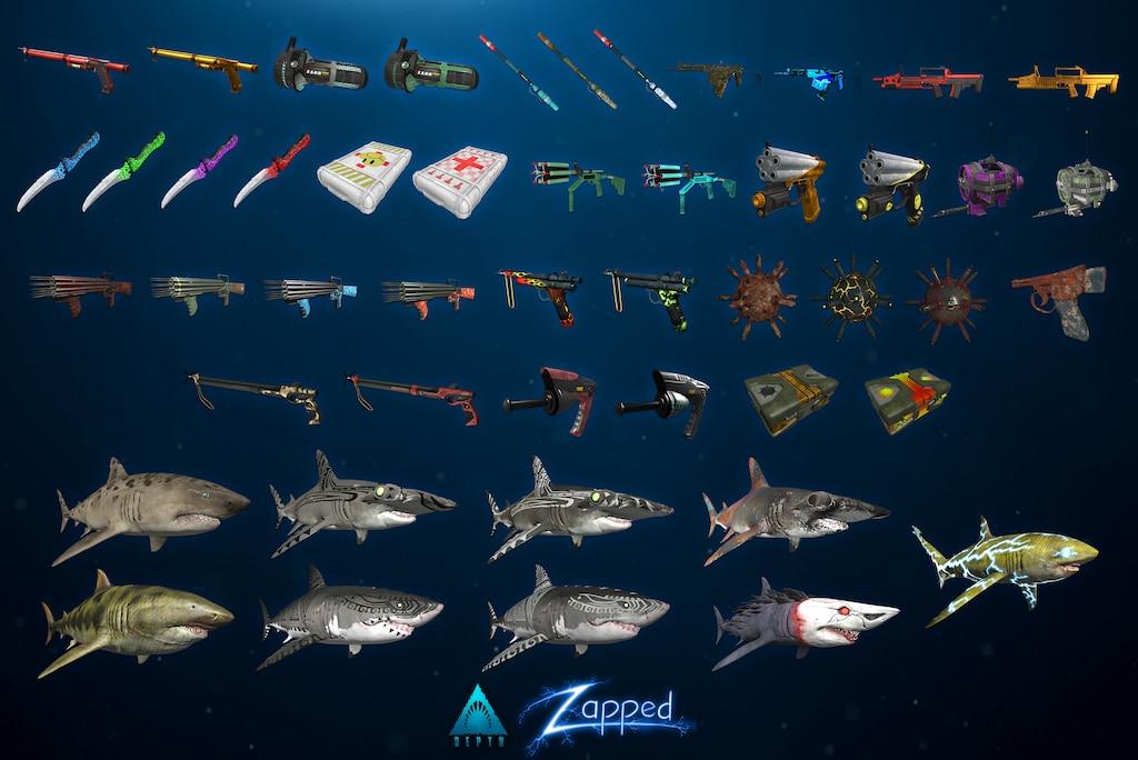 Steam общност :: :: Depth: Zapped - Item Drops