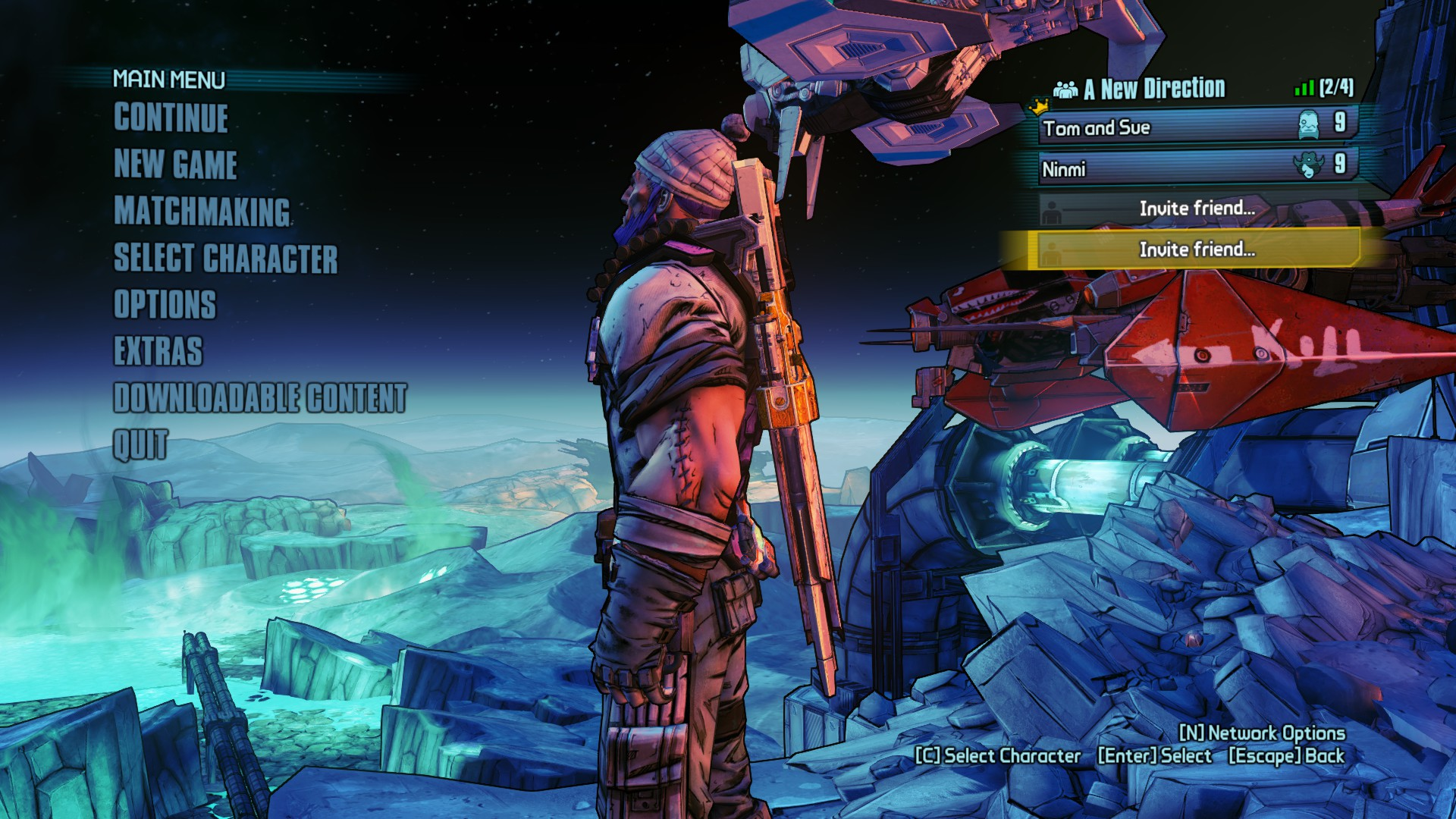 Matchmaking borderlands pre sequel