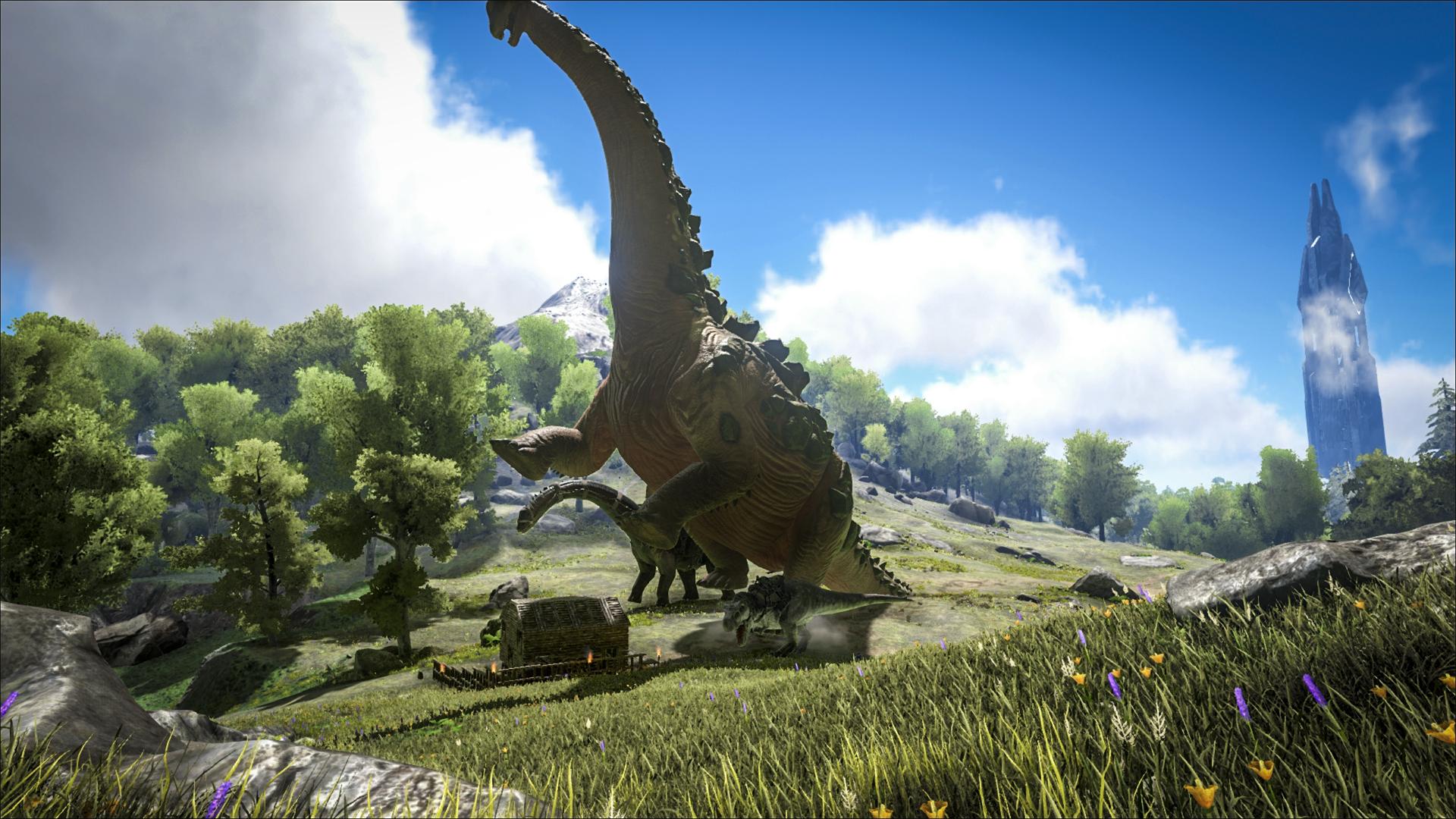 Jun 22, 2016 Redwood Biome and Spotlight: Titanosaur! ARK