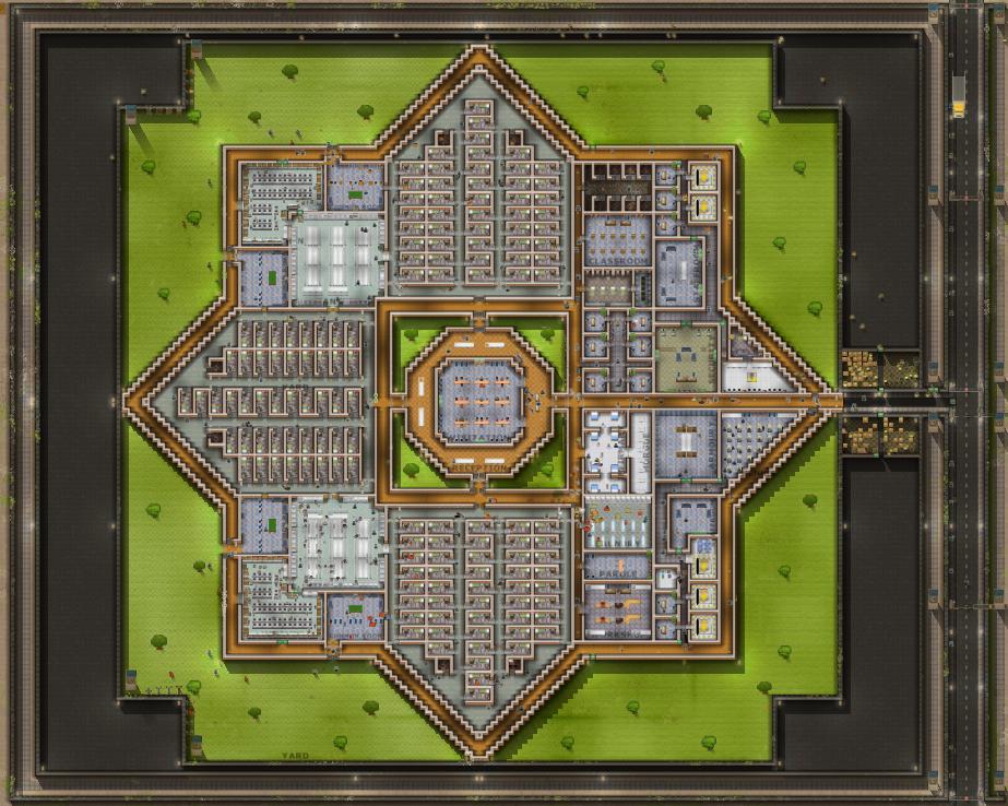 Steam workshop prison architect escape mode maps for Jail architect