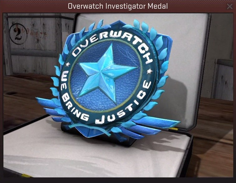 Overwatch медаль в cs go