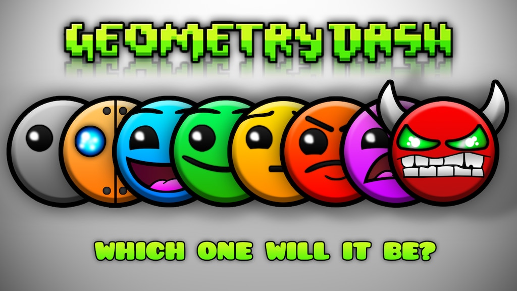 Steam Community Geometry Dash Difficulty Wallpaper 1920x1080