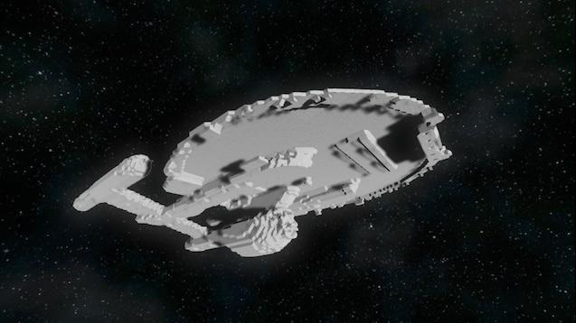 Steam Workshop :: Star Trek - NX Class Refit - 2x Scale