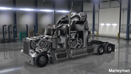 Steam Workshop :: Kenworth W900 Oakland Raiders 'Black Hole Edition'