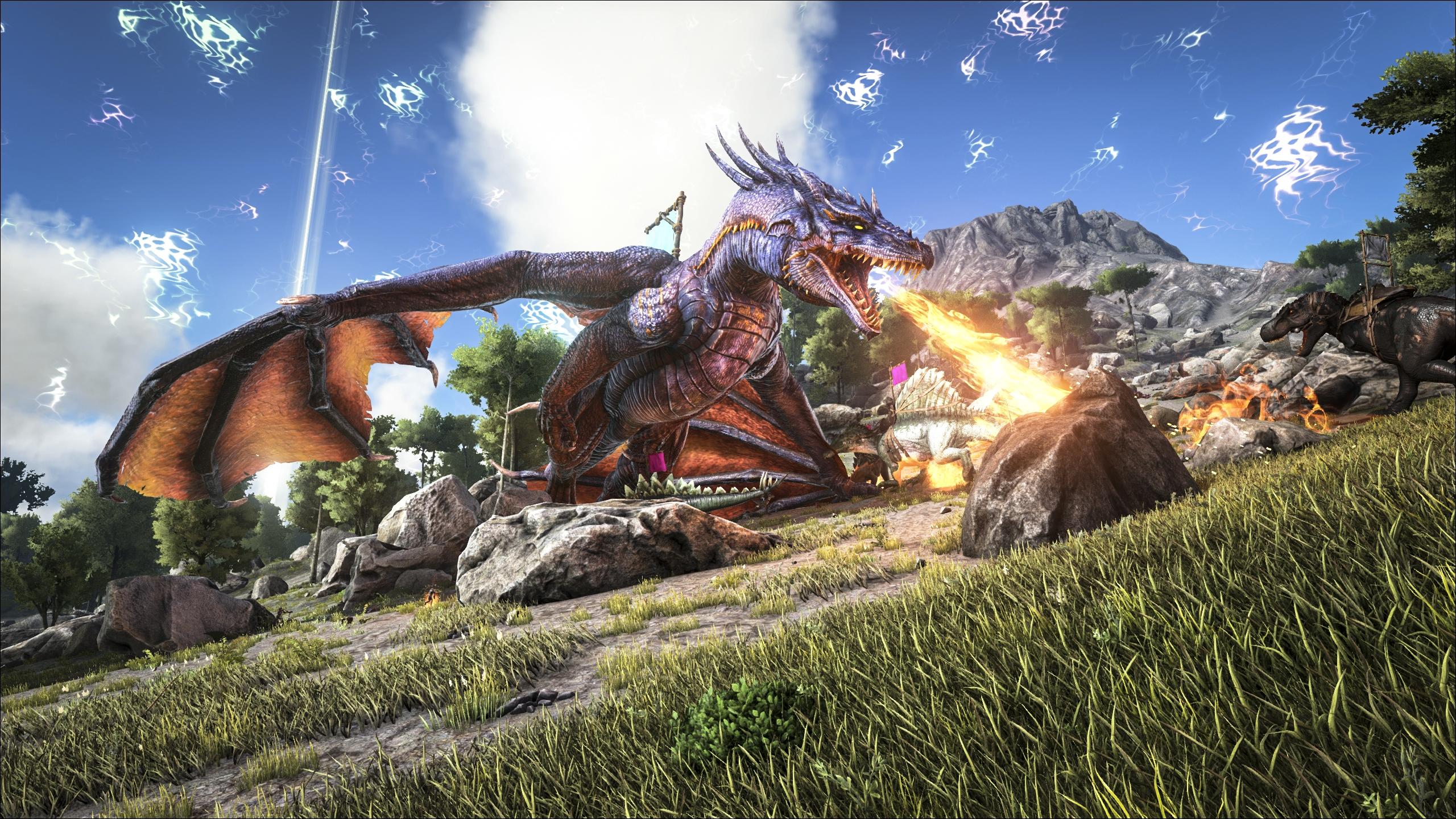 download ark survival evolved mod pc