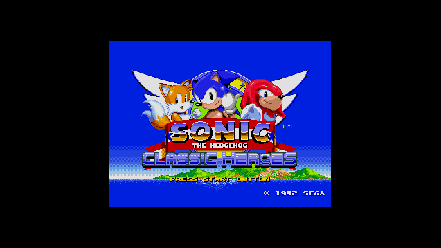 Steam Workshop :: Sonic Classic Heroes