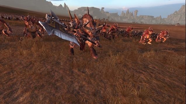 Steam Workshop :: Recruit Chaos units as Beastmen