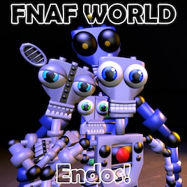 Steam Workshop :: FNaF World Character Pack - Endoskeletons