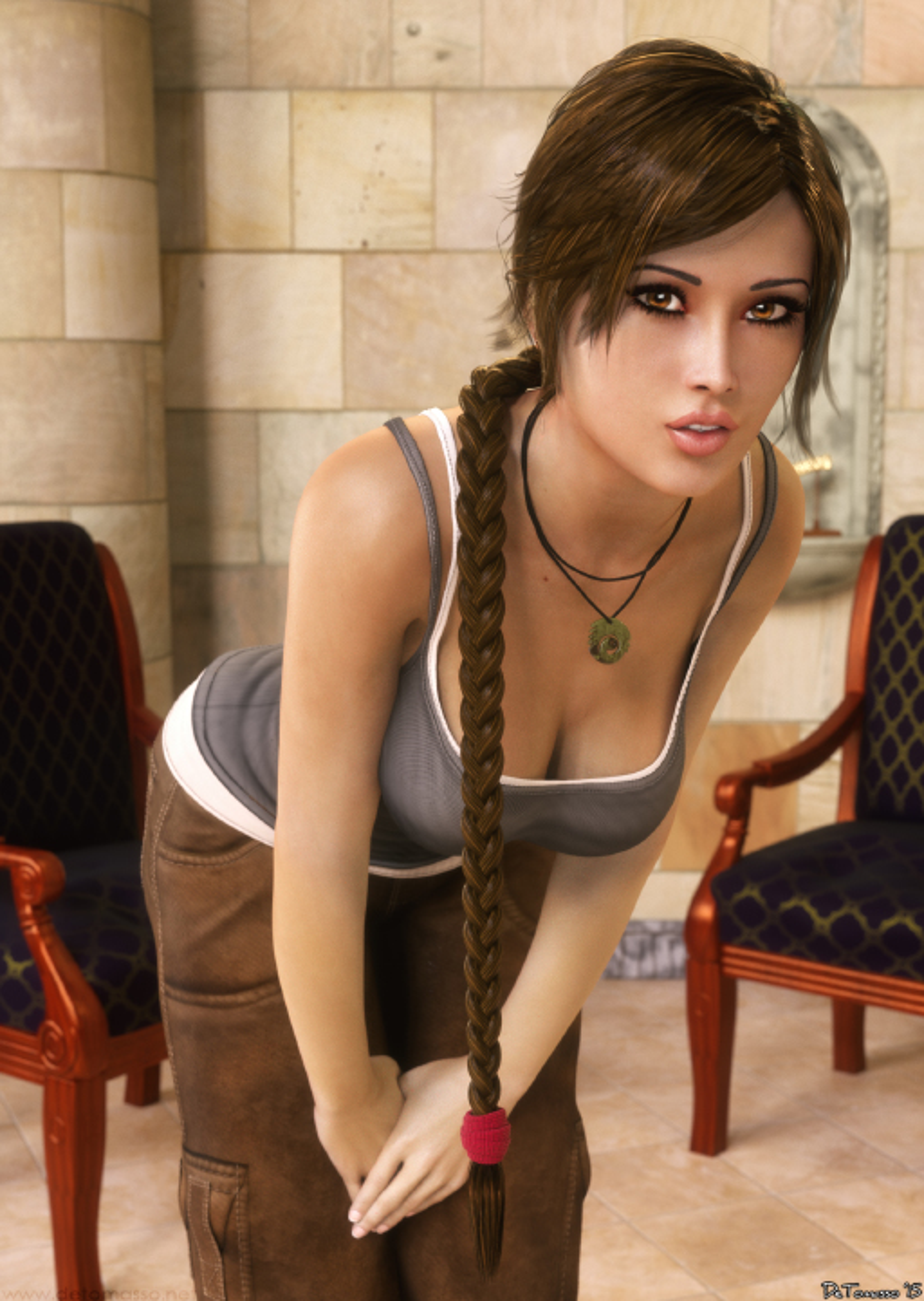 Steam Community :: :: Lara Croft by DETOMASSO