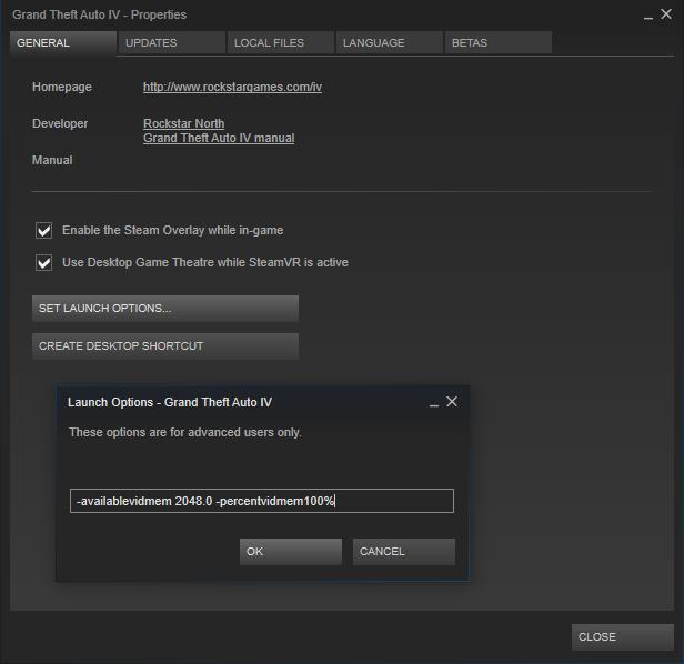 gta 4 not enough video memory fix
