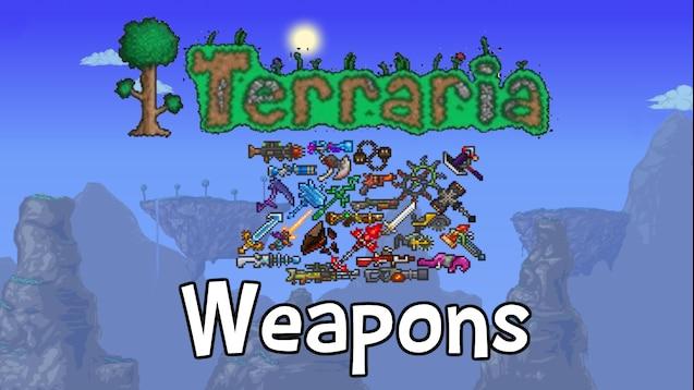 Warsztat Steam Terraria Weapons