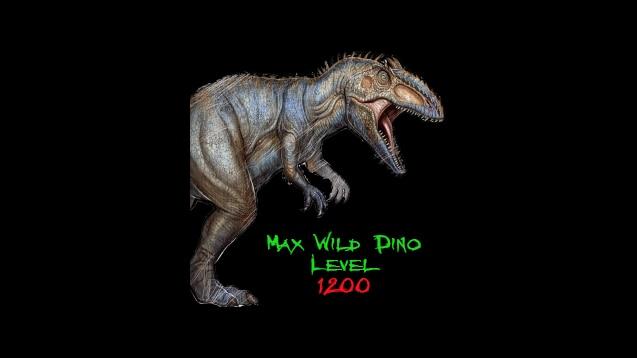 Steam Workshop :: Max Wild Dino Level 1200