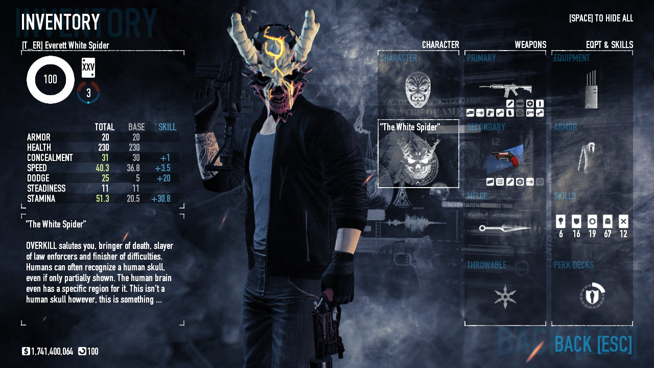 Stealth Technician Build Payday